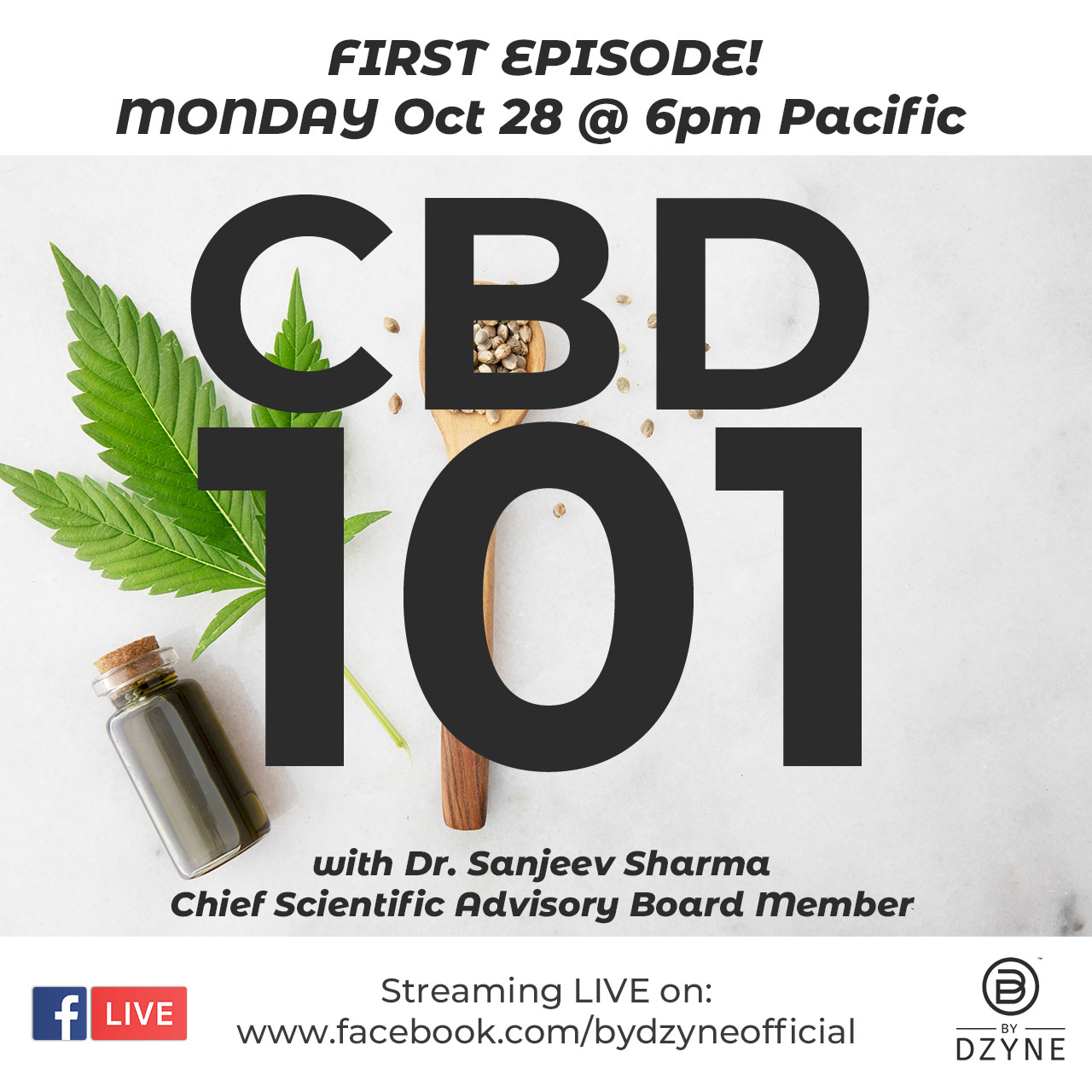 RECAP: Episode 1 – CBD 101 with Dr. Sanjeev Sharma