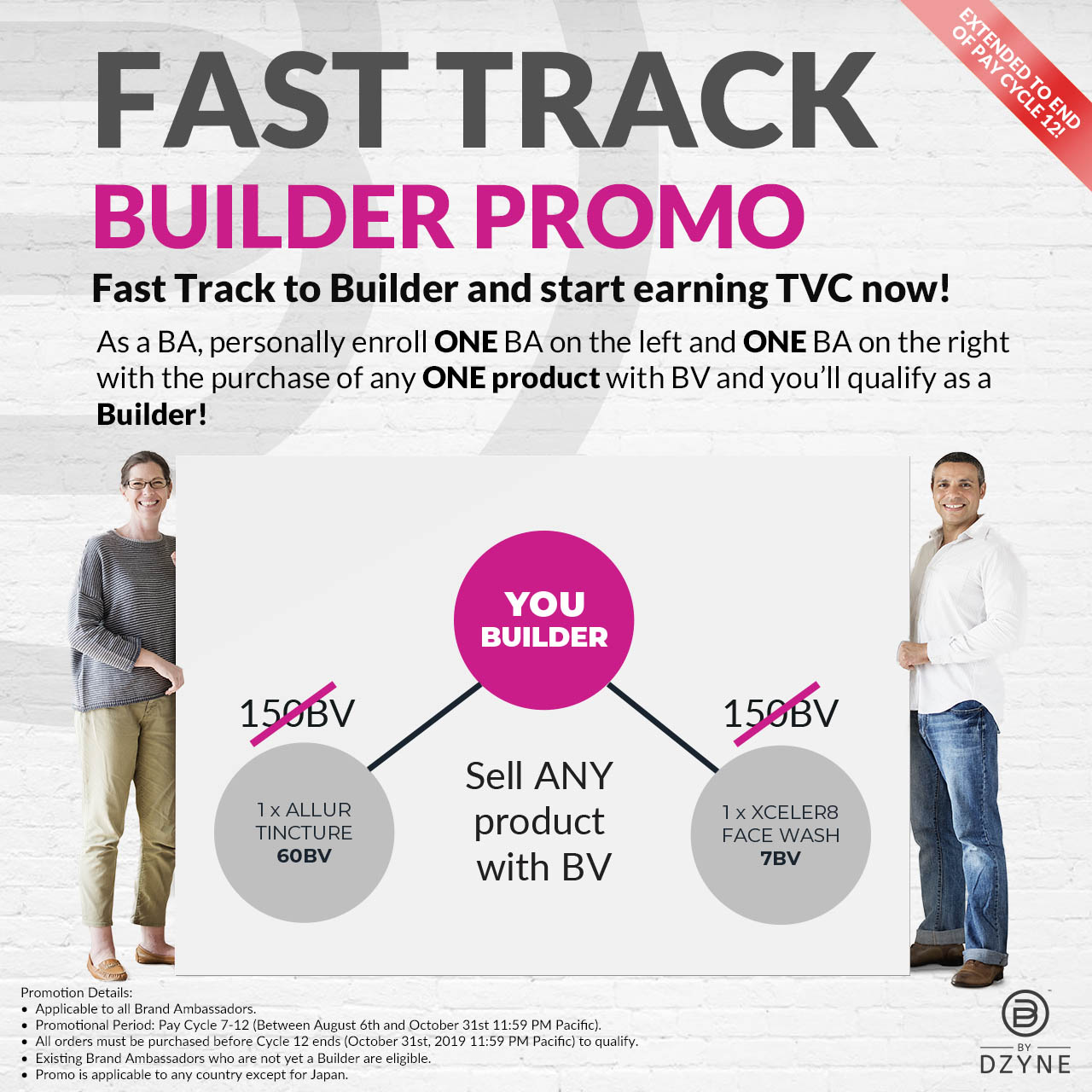 FAST TRACK BUILDER PROMO and start earning TVC now!