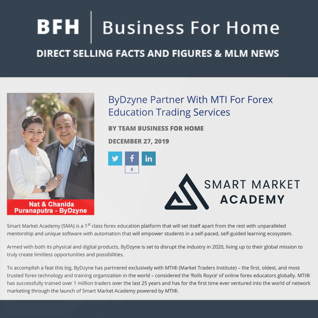ByDzyne Partners With MTI For Forex Education Trading Services