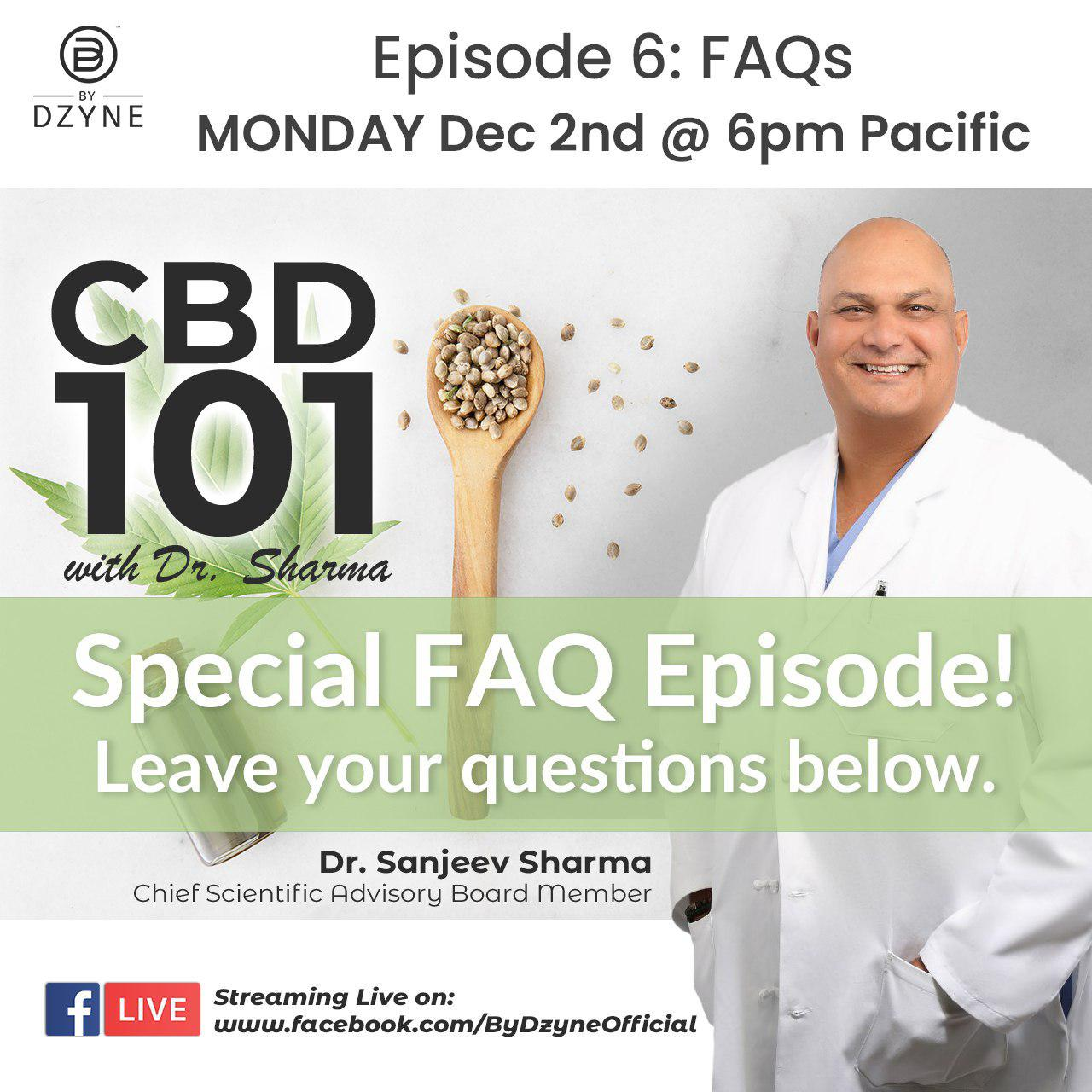 RECAP: Episode 6 – CBD 101 Frequently Asked Questions