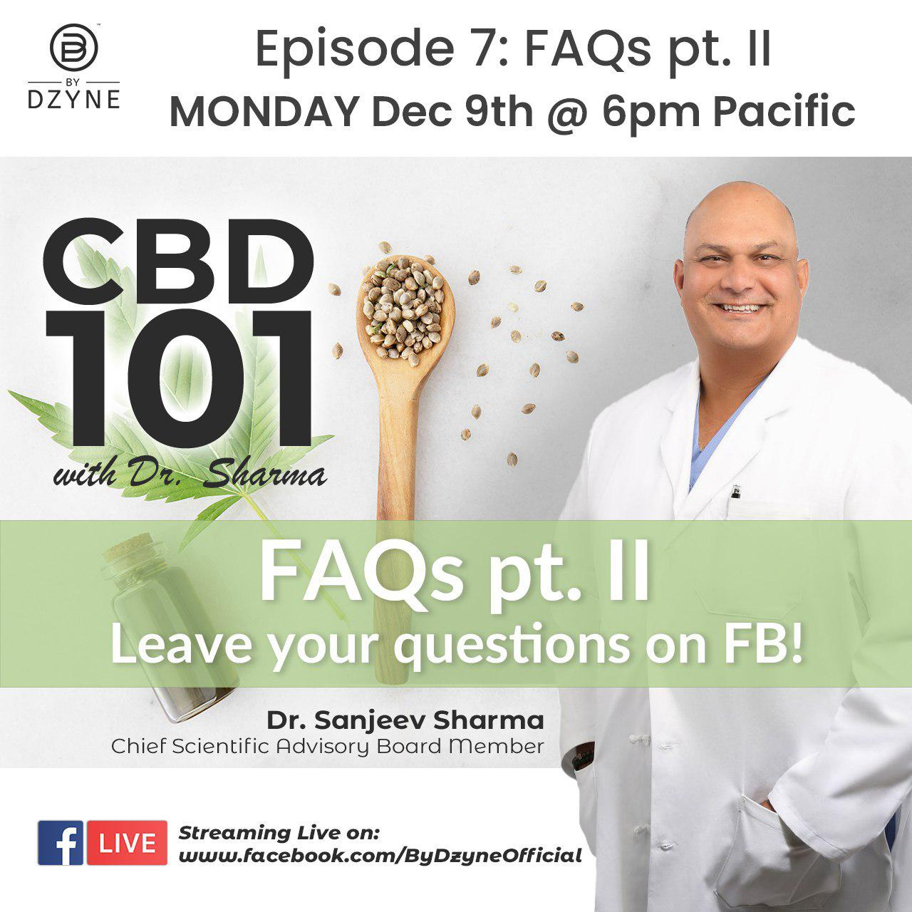 RECAP: Episode 7 – CBD 101 Frequently Asked Questions Pt II
