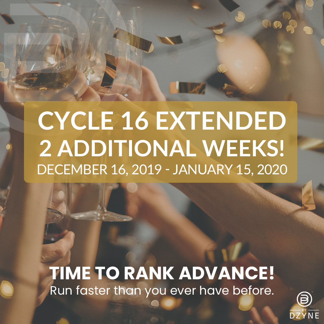 Cycle 16 Extended to Jan. 15 with 2020 KICK-OFF Promos announcement!