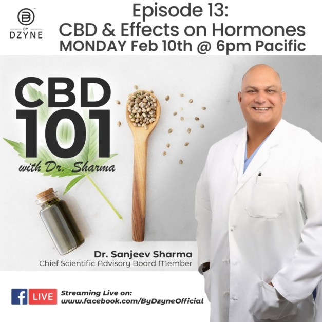CBD 101 RECAP: Episode 13 – CBD & its effects on hormones