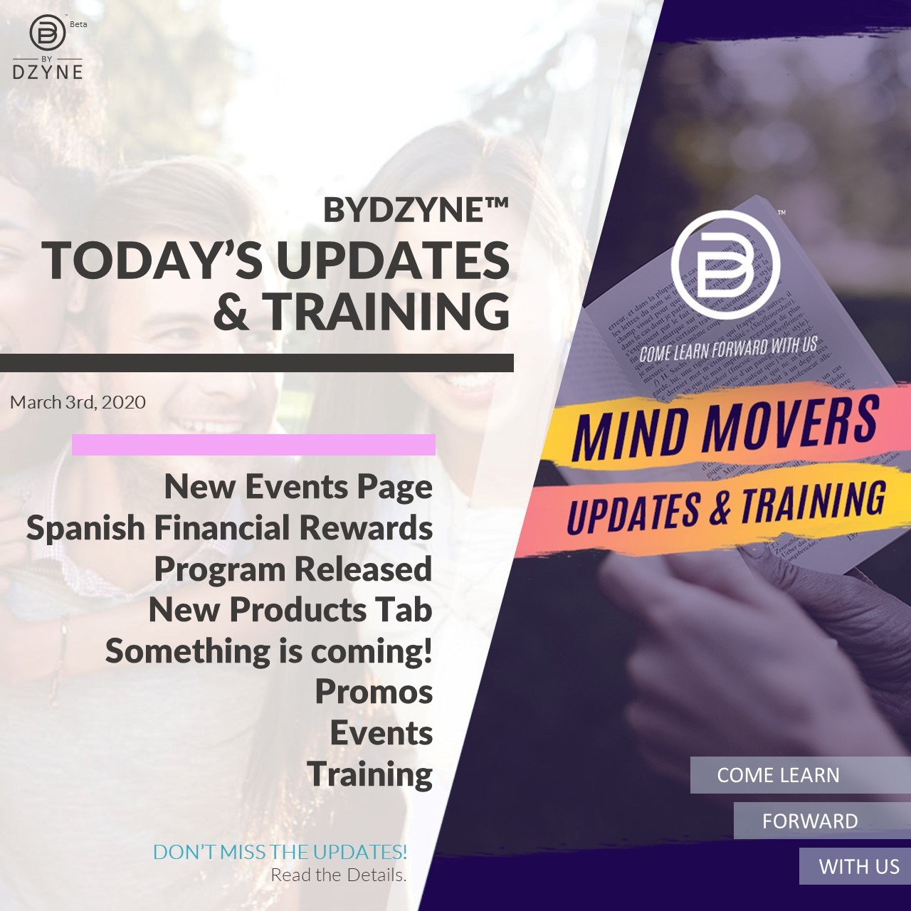 RECAP: How to keep a YES Ep. 14 – Mind Movers Updates & Training