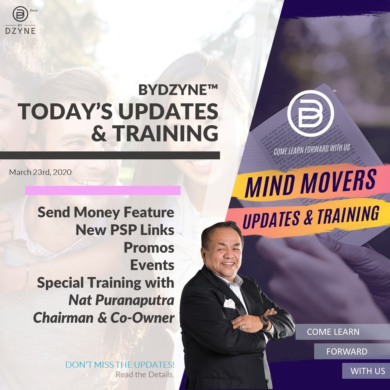 RECAP: Pt 2: The 3-6-9 System Ep. 17 – Mind Movers Updates & Training