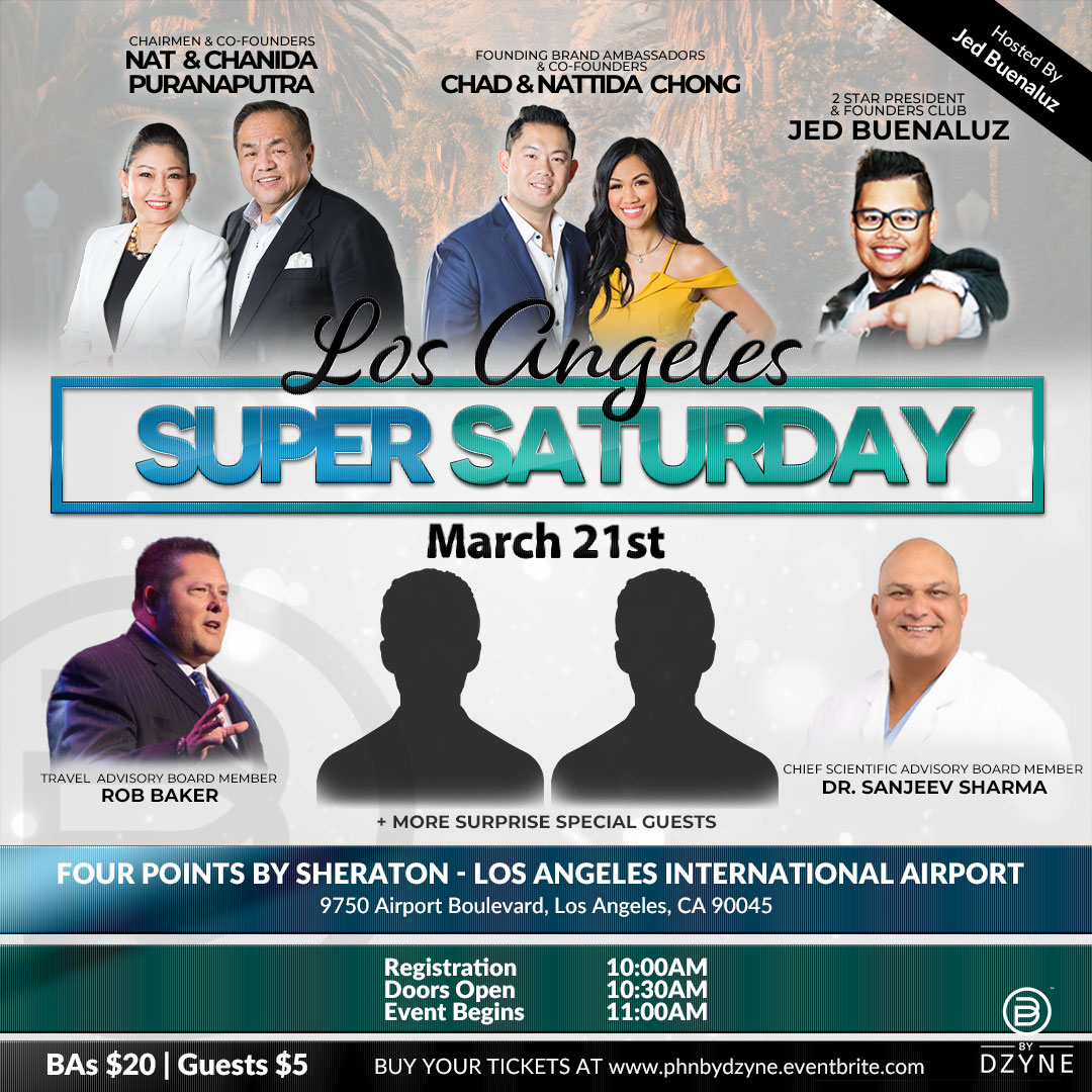 Gather your team & attend Super Saturday on March 21st in LA!